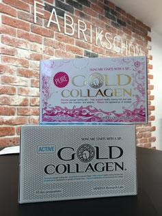 Gold Collagen- und Kosmetikprodukte