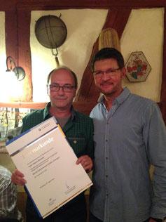 40. Firmenjubiläum in der Bernd Schienmann GmbH, Schienmann Team 40. Jahre Treue,
