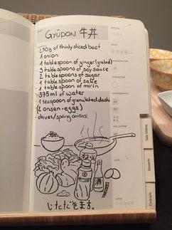 Gyuudon recipe