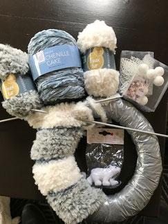 Zelf een krans maken van wol