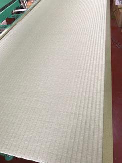ビニール畳セキスイ美草で新畳を作成中