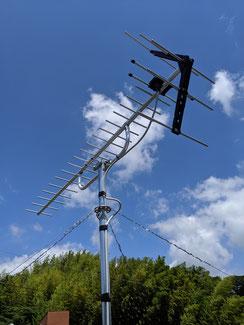 TVアンテナ設置工事