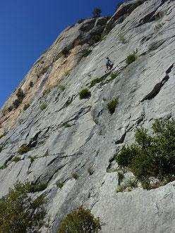 Klettern, climbing, Südfrankreich, Provence, Buis les baronnies, Ubrieux, Les Flambeurs