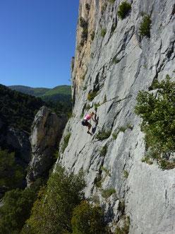 Klettern, climbing, Südfrankreich, Provence, Buis les baronnies, Ubrieux, Symphonie Inachevée