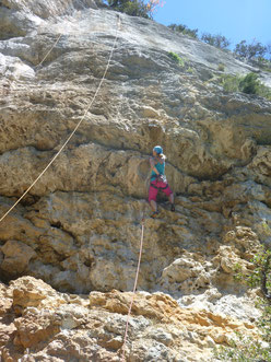 Klettern, climbing, Südfrankreich, Provence, Buis les baronnies, St. Léger, Saint Lèger, La Gourmandises du Vautour