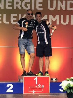 Auch Thomas Sprung und Sven Köhler freuten sich über ihre vorderen Platzierungen.