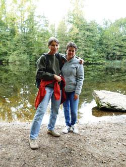 Cristina Auerbach Benaevides (li.) und Annette Fingscheidt Bild: Heinz-Peter Blumenthal