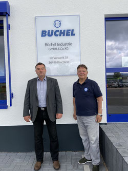 Ullrich Blanc (l), Erhard Büchel