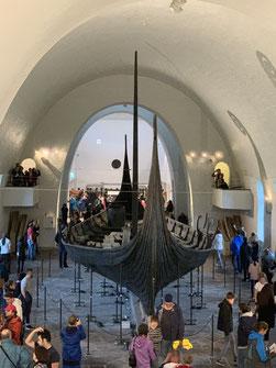 Norwegen, Oslo, Wikinger Museum, Wikingerschiff
