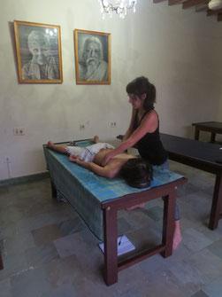 Laurane Ruaux Réflexologie plantaire Thaï massage détente ancrage relaxation bien-être 974 La Réunion
