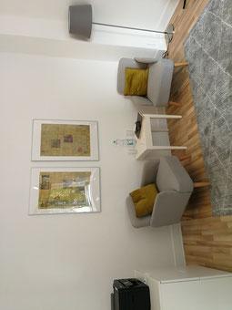 In meinem Coaching-Raum in Köln