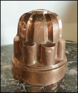 moule à gateaux en cuivre grande taille