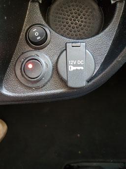 Zusatzschalter: Umschaltung Gerätefunktionen auch bei abgezogenem Schlüssel
