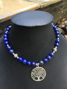 #necklace#short#lapislazuli#treeoflife