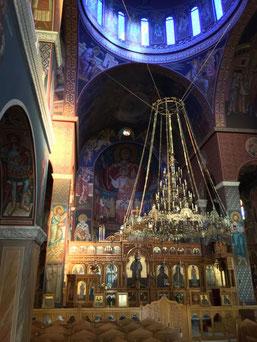 Innenraum der Kirche zu den vier Märtyrern in Rethymno/Kreta