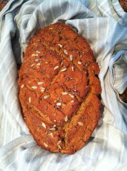 glutenfreies selbst gemachten Brot
