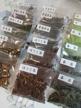 日本茶入門講座 エルチアーズ花とテーブル教室