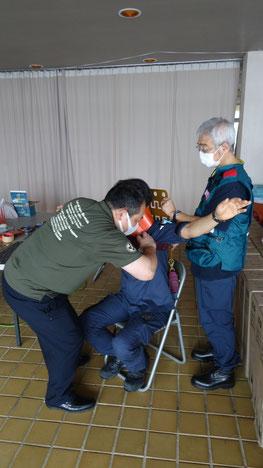 照井さんによる多目的運搬器具兼頸椎保護具  の説明
