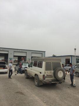 TÜV-Abnahme auf Chinesisch