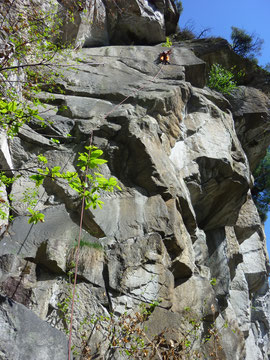 Cresciano, Sardegna arrivo, Klettern, Schweiz, Tessin, Climbing Ticino