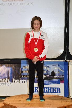Ringertalent Sophia Meraner holte ihren 4. Turniersieg