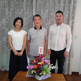 東京農業大学名誉教授小泉幸道先生と一緒に