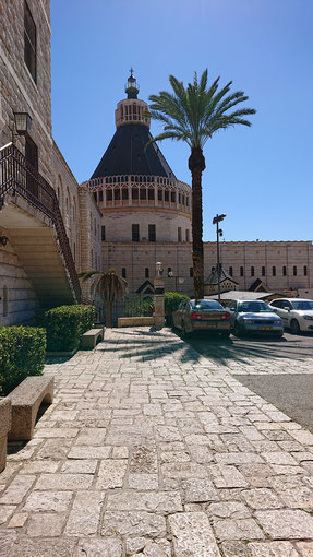 The Annunciation Church in Nazareth