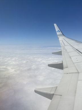 Flug nach Bergen