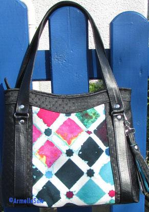 sac, sac à main, brodé, simili-cuir, velours, besace, cabas, fabriqué en France, fait en Bretagne, fait main, artisanat