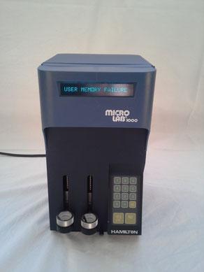 Micro Lab plus 1000 Dispenser Werkzeuge und Zubehör für das chemische Labor
