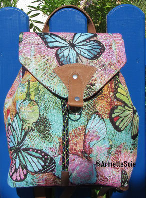 sac à dos, sac original, sac à main. création unique, fait main, fabrication française, femme,fabriqué en France , fait en Bretagne
