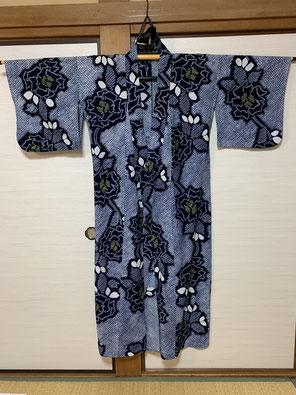 絞りの浴衣