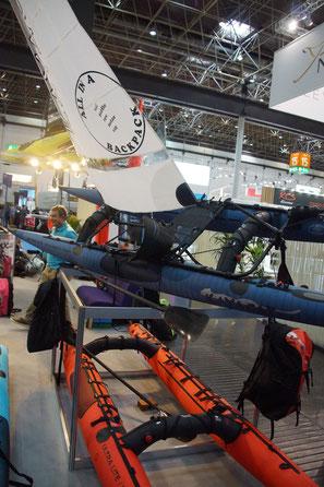 Wirklich neu die Luft Kayacks von Kayacat England