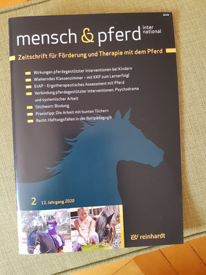 Wieherndes Klassenzimmer - mit KKP zum Lernerfolg!® - Mensch und Pferd International 2/2020: Zeitschrift für Förderung und Therapie mit dem Pferd