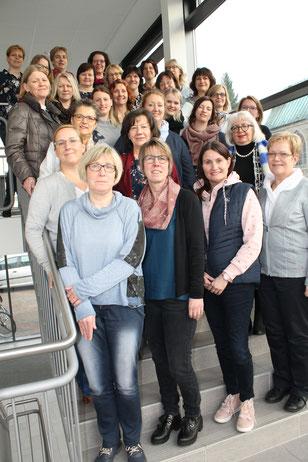 Vorstand, Geschäftsführung und Mitarbeiterinnen des SkF Meppen