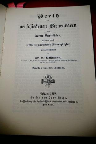 Dieses sehr interessante Werk von 1889 ist 2015 im Fachbuchverlag Dresden als Nachdruck erschienen.