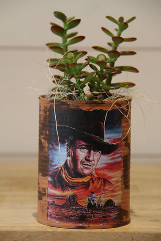 john wayne dose büchse sukkelente pflanze