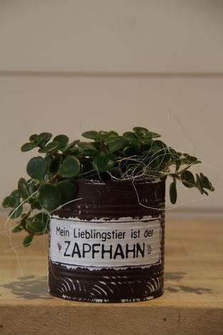 mein lieblingstier ist der zapfhahn dose büchse sukkelente pflanze