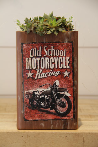 dose büchse sukkelente old school motorcycle