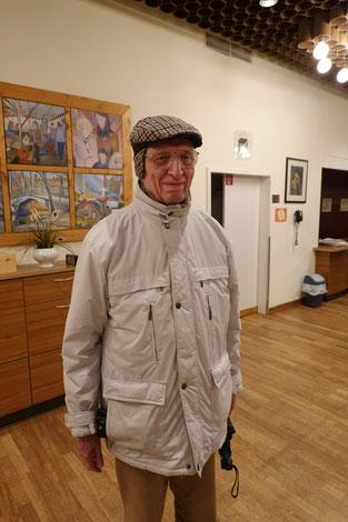 Immer zuverlässig zur Stelle. Ralf Schubert wurde heute 87 und spielte Remis. Herzlichen Glückwunsch lieber Ralf !