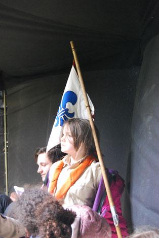 Pfadfinder Aachen Wimpel Lilie