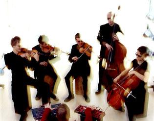 Violine, elektrische Violine, Chill-Out, Live-Act, elektronische Musik