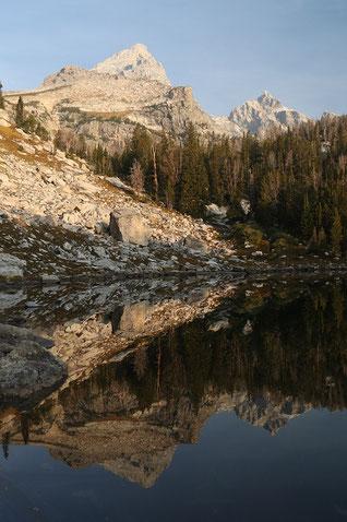 Grand Teton Spiegelung, Bergsee, Fotografie, USA, Rocky Mountains