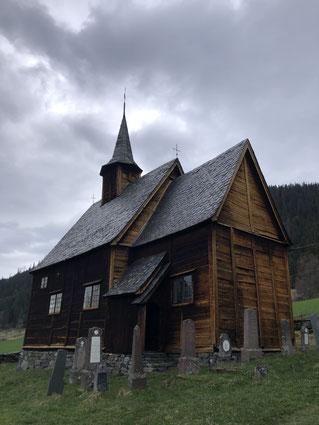 Die Stabkirche Lomen