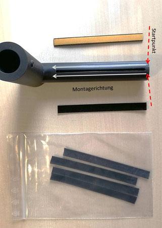 good-vinyl.de: Okki Nokki Saugrohr - Montage der neuen Lippen