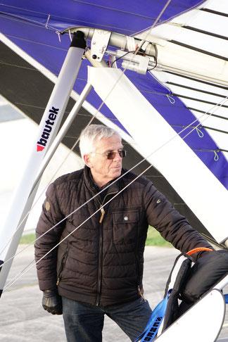 Harald Zimmer chef boss bautek Drachenfliegen hanggliding pilot drachen hängegleiter ultraleicht hanggliders ultralight wings gliders