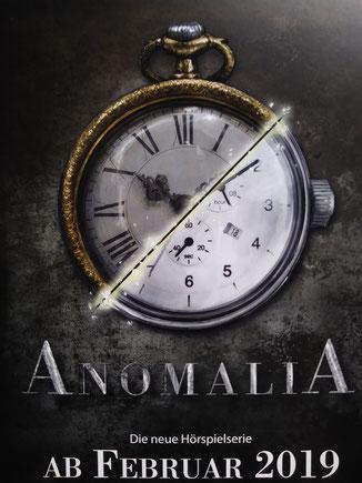 Anomalia Hörspiel lübbe audio verlag sprecherin rolle sara julia mainusch sci-fi-hörspiel cd amazon juliamainusch