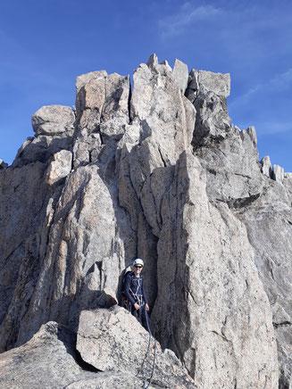 Trient, Aiguille d'Argentière, Aiguille du Chardonnet, Aiguille Verte, Les Drus und Mont Blanc, Aguilles du Tour, Aiguille du Tour, traverse, überschreitung, arête de la table, Südgipfel, Cabane du Trient