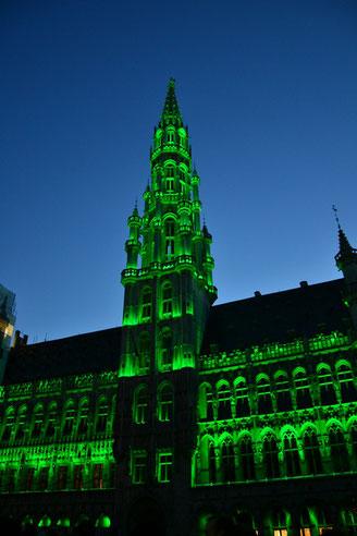 Brüssel Rathaus Grand Place
