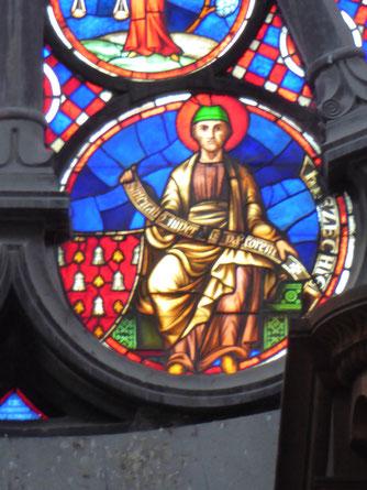 Notre-Dame de Tournai Rosace - Profeet HIEZECHIEL